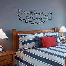 ich bin nichts gutes harry potter wandtattoo schlafzimmer englisch worte zitat dekoration vinyl schwarz 19 hx58 w