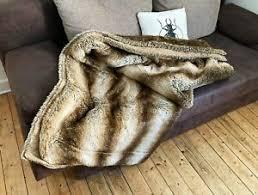 flauschige kuscheldecke möbel gebraucht kaufen ebay