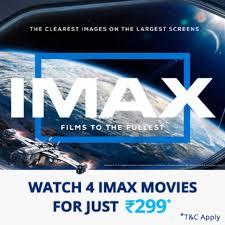 IMAX Movie Pass | Paytm.com