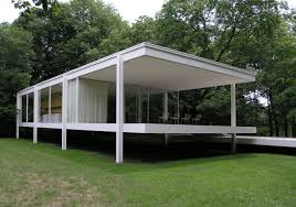 100 Glass House Architecture Farnsworth Buildings Of Chicago Chicago