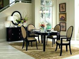 Rug Size For Under Dining Table Rugs Room Beautiful That Showcase