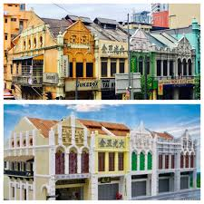 100 Houses In Malaysia Heritage Shop In Comparison Of My LEGO Cr Flickr