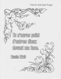 Coloring Books Bible Verse