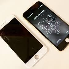 iPhone 6 cracked screen LCD Repair Replacement Black screen