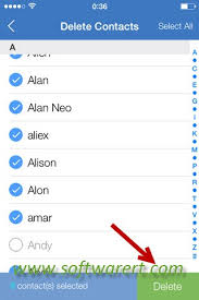 How to Select and Delete Multiple or All Contacts on iPhone