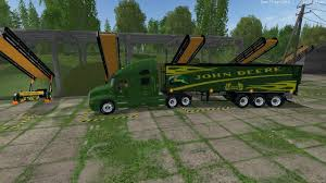 JD AND MF + CULTAVATORS + TRUCK + TRAILER PACK V2.0 FS15 - Farming ...