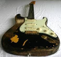 Custom Guitar Fender Body Relic