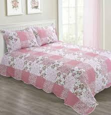 bettüberwürfe tagesdecken vintage soft pink