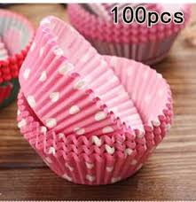 ULKNN 100Pcs Muffin Cup Cake Mold Decorating Tools Paper