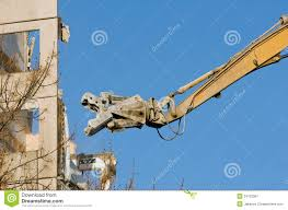 Demolition Truck In Action Stock Image. Image Of Cutter - 24120367