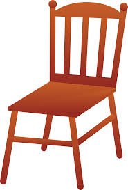 Furniture Clipart Wooden Chair 13