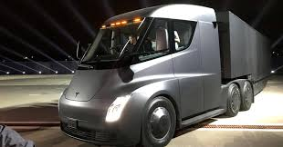 Diesel Engines Versus New Electric Tesla Semi