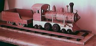 detailed toy wooden train the woodcrafter page 2004