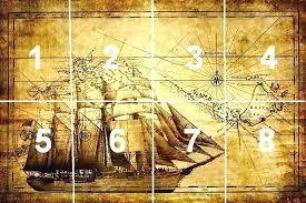 Vintage Wallpaper Art Grand Explorer World Map Antique Wall Mural Decor Photo