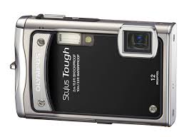 Amazon Olympus Stylus Tough 8000 12 MP Digital Camera with 3 6x Wide Angle Optical Dual Image Stabilized Zoom and 2 7 Inch LCD Black Point And