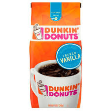 Dunkin Donuts Pumpkin Syrup Nutrition Facts by Dunkin U0027 Donuts French Vanilla Flavored Medium Roast Ground Coffee