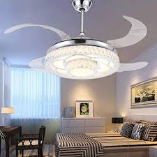 RS Lighting Modern Fashion Low Profile Ceiling Fans With Lights 42 Inch Hugger Fan
