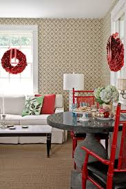 Black And Red Living Room Decorating Ideas by 50 Diy Christmas Wreath Ideas How To Make Holiday Wreaths Crafts