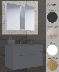 vcm spiegelschrank badspiegel spiegel badezimmer hängespiegel vcb 1 60 cm holz badmöbel spiegelschrank vcb 60cm farbe schwarz ausführung ohne