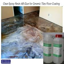 self levelling clear epoxy resin coating and paint glue for