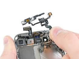 remplacement de la nappe d alimentation et de capteur de l iphone