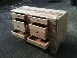 meuble en bois de palette a vendre de design unique