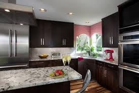 Incredible Top Granite And Dark Brown Kitchen Remodeling Designs With Hubbards Custom Cabinetry Also