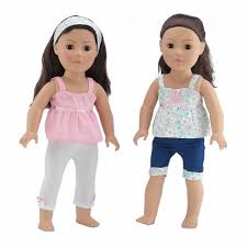 Simple Life Small Dresses Collection For American Girl Dolls