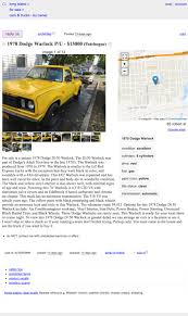 100 Long Island Craigslist Cars And Trucks By Owner At 15000 Could You Fall Under The Spell Of This 1978 Dodge Warlock