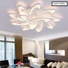 großhandel moderne led deckenleuchte montierte oberflächenlicht für wohn esszimmer schlafzimmer lüster led deckenleuchte lara
