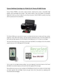 Remanufactured CL 41 Colour Ink For Pixma IP1800 Printer