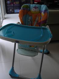 Used Item For Sale: Used Chicco Polly 2 In 1 High Chair - Sold