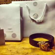 versace medusa head buckle belt youtube