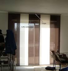 rideaux baie vitrée avec coffre idées d images à la maison