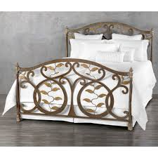 Wesley Allen King Size Headboards by Laurel Iron Bed By Wesley Allen Humble Abode