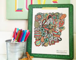 PRINTABLE Adult Coloring Book Printable