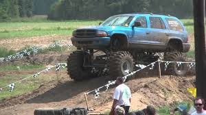 BADASS DURANGO At DAMMP North Vs South MUD BOG!! - YouTube