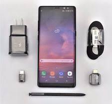 Samsung Galaxy Note8 SM N950U 64GB Midnight Black T Mobile