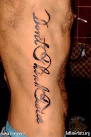 All Images To Chinese Words Tattoos On Rib Side