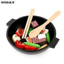 cuisine en jouet ocday en bois design bébé enfants cuisine jouets éducation précoce