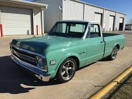 1969 Chevrolet C10 Gets An OEM-Style Radio Back! - Next Gen Audio ... 1969 Chevrolet Ck 10 For Sale On Classiccarscom C10 Gets An Oemstyle Radio Back Next Gen Audio Pickup Short Bed Fleet Side Stock 819107 Truck Sale Chevy With Intro Wheels 22 And 24x15 Slamily Reunion Classic 4438 Dyler 1969evletc10chromearbumperjpg 20481340 Auto Art 1955 All Stepside Old Photos Volo Museum Cst Texas In Arkansas Truck Guy Ol Blue Photo Image Gallery