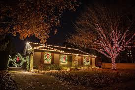 Multi Color Christmas Lighting Tree Wrap And Lighted