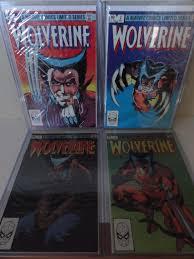 Wolverine 1 4 Marvel Comics 1982 UK Limited Series Frank Miller 15000 End
