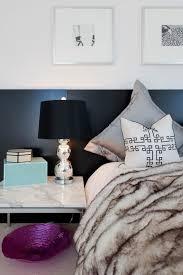 schlafzimmer günstig kopfteil schwarz nachttisch le in