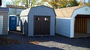10x20 Shed Floor Plans by 10x20 Dutch Barn Amish Built Shed Youtube