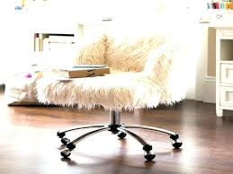 Fuzzy Office Chair Fice Pink