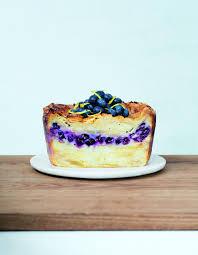 dessert pour 6 personnes gâteau invisible citron myrtille pour 6 personnes recettes
