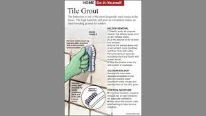 here s how remove mildew from bathroom tile grout
