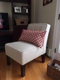 burke accent print slipper chair polly aegean slipper chairs