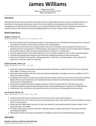 Senior Accountant Resume Sample Resumelift Pertaining To Examples For Accounting